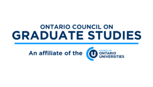 Ontario Council on Graduate Studies (OCGS)